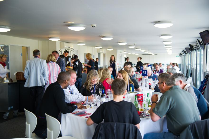 Brooklands Restaurant Hospitality. The Brooklands Restaurant offers guests a superb base for the day at Silverstone Circuit