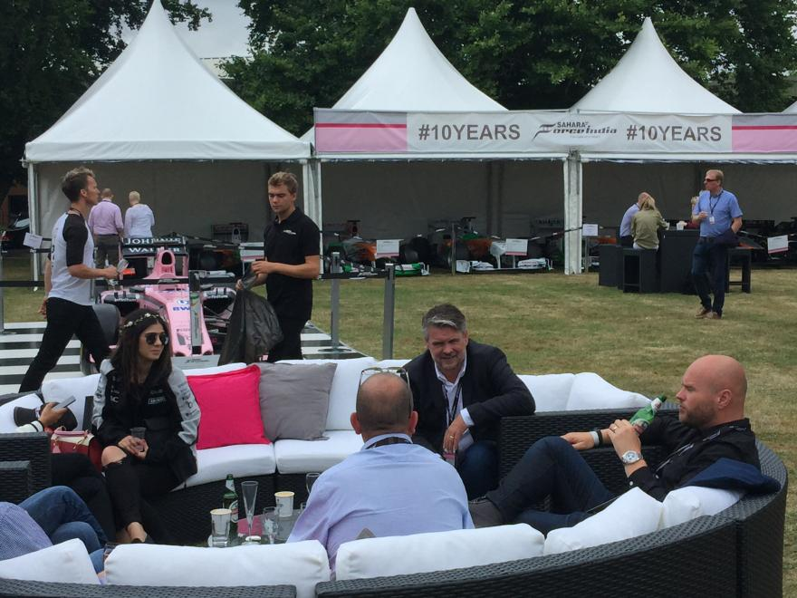 Sport Pesa Racing Point British Grand Prix Party